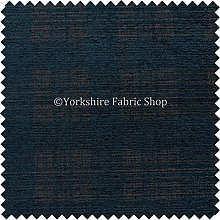 Checked Tartan Pattern Blue Colour Soft Chenille