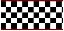 Checkered Flag Cars Nascar Wallpaper Border-6 Inch