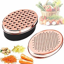 Cheese Grater Lemon Zester with Food Storage