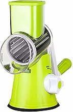 Cheese Grater Manual Rotary Vegetable Slicer Fruit
