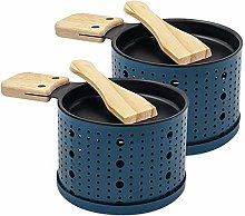Cheese Melter Raclette Grill, 2PCS Portable Cheese