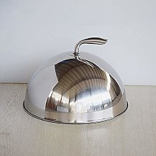 Cheese Melting Dome Stainless Steel Griddle Grill