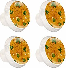 Cheese Pattern Cabinet Knobs Knobs for Dresser