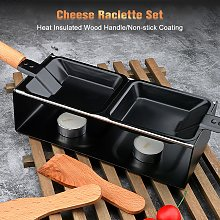 Cheese Raclette Set Cheese Melter Pan Non-Stick