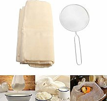 Cheesecloth, Square Soft Muslin Cloths Straining