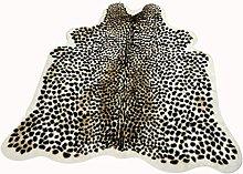 Cheetah Print Area Rug Faux Cowskin Rugs Leopard