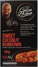Chef Collin Brown Rub and Grill Sweet Coconut