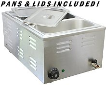 Chef-Hub Commercial Wet Well Bain Marie Electric