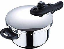 Chef Sauce Midi Pressure Cooker, Silver, 6