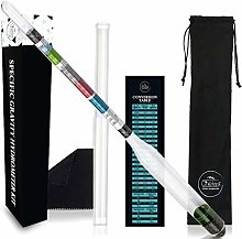 Chefast Hydrometer Kit for Wine, Beer, Mead and