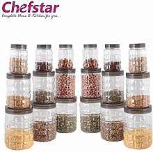 Chefstar TikTik container plastic PET Canister