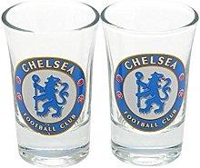 Chelsea FC Official Football Gift Shot Glass Set