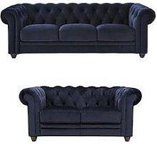 Cheltenham 3 + 2 Seater Fabric Sofa Set (Buy And
