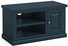 Cheltenham Blue Small TV Unit   Roseland Furniture