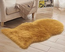 chen Faux Fur Sheepskin Shaggy Area Rugs, Soft