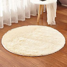 chen Round Area Rugs, Soft Short-haired Home