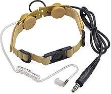 CHENCHEN ZHUZHENG U94 PTT Throat Mic Headset