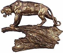 ChengBeautiful Ornament Creative Resin Tiger
