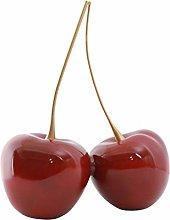 ChengBeautiful Ornament Resin Cherry Ornament Desk