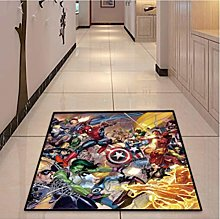 chengcheng Marvel Superhero Carpet Bedroom
