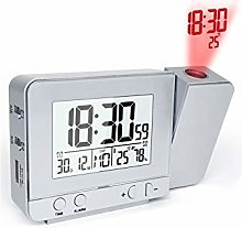 Cheniess Atomic Projection Clock With Ceiling Wall