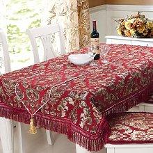 Chenille Table Tablecloth Joyous Velvet Table