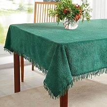 Chenille Tablecloths Rectangle Medium 132 X 183Cm