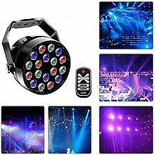 CHENJIA 18LED DMX512 RGB 7 Lighting Modes Disco