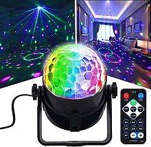 CHENJIA Disco Ball DJ Party Lights, Sound