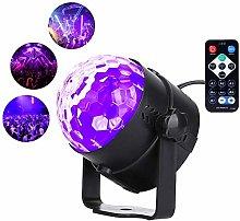 CHENJIA Disco Ball Light LED Party Lighting Black