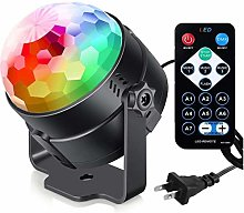 CHENJIA Sound Party Lights Disco Ball with Remote