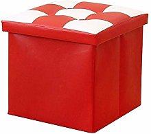 CHENJIA Stool Storage Box Collapsible Storage