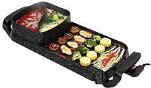 CHENMAO BBQ alloy -Grill Indoor Hot Pot