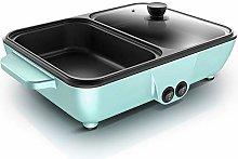 CHENMAO Electric Grill Hotpot 2-in-1 -Portable