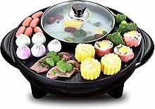 CHENMAO Electric oven smokeless barbecue pot