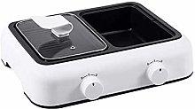CHENMAO Mini hot pot barbecue ,Upgraded Electric