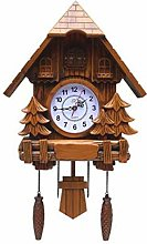 CHENSHJI Cuckoo Clock Antique Cuckoo Wall Clock