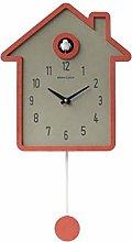 CHENSHJI Cuckoo Clock Quartz Wall Clock Pendulum