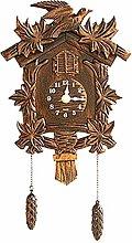 CHENSHJI Cuckoo Clock Wall Clock With Bird Cuckoo