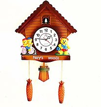 CHENSHJI Cuckoo Clocks Wall Clock Antique Pendulum