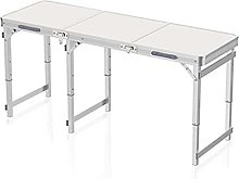 CHENSHJI Lightweight Folding Table Folding Table