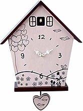 CHENSHJI Modern Cuckoo Clock Report Clock Swing