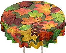 CHENXTT Tablecloth Wipe Clean Round Tablecloths