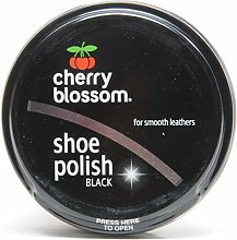 Cherry Blossom Shoe Care (Shoe Polish Black 2 x