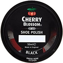 Cherry Blossom Shoe Polish - Black (50ml)