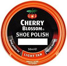 Cherry Blossom Shoe Polish - Light Tan (50ml) -