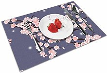 Cherry Blossoms Insulation Heat Resistant Table