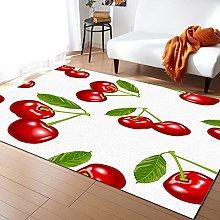 Cherry Fruit Carpet for Living Room Household