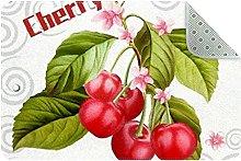 Cherry Tree Door Mat, Machine Washable Soft