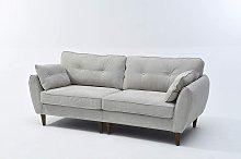 Cherry Tree Furniture 3 Seater Brooks Fabric Sofa